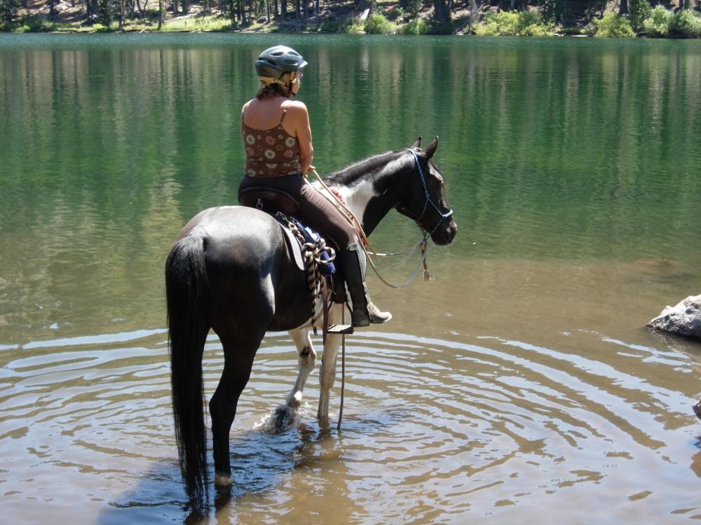 Tamara and Nakota at Lindsey Lake