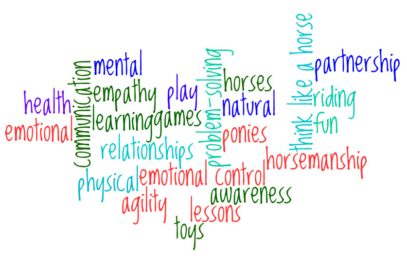 Youth Program word cloud: partnership, agility, relationships, communication, empathy, natural, and more