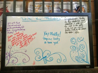 The working student message board